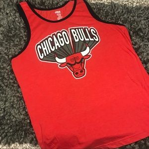 Chicago Bulls graphic tank top. Sz large.